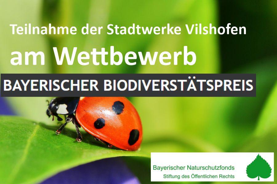 Teilnahme am Wettbewerb – Bayerischen Biodiversitätspreis 2020